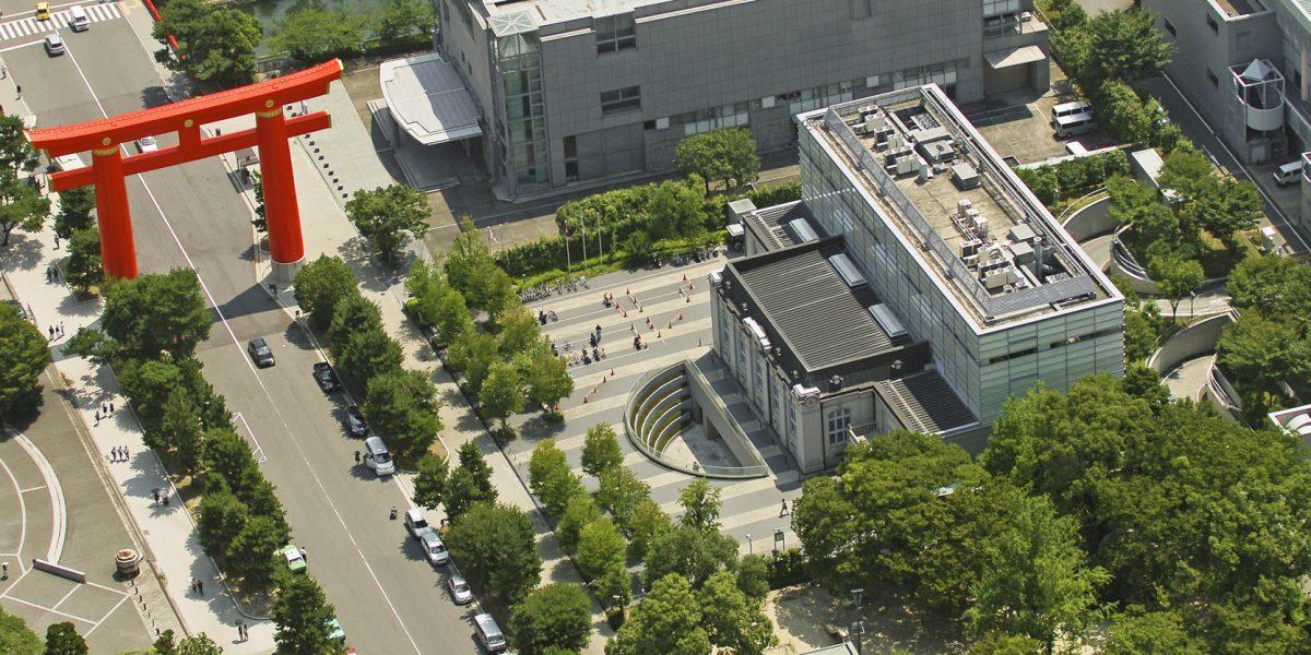 航空写真(京都府立図書館付近)